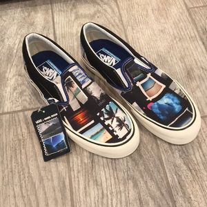 Vans Daniel Russo Slip on skate surf shoes